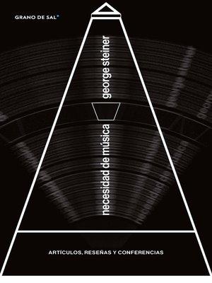 cover image of Necesidad de música