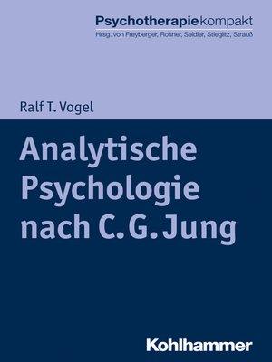 cover image of Analytische Psychologie nach C. G. Jung