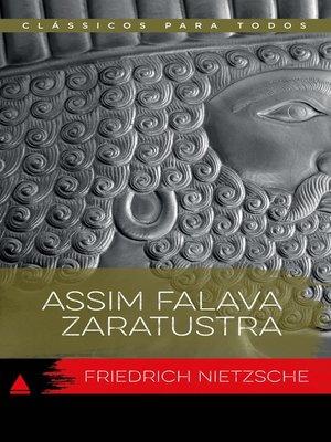 cover image of Assim Falava Zaratustra