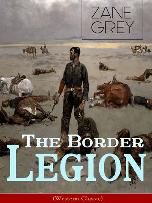 cover image of The Border Legion (Western Classic)