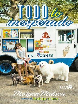 cover image of Todo lo inesperado