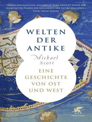 cover image of Welten der Antike