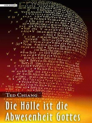 cover image of Die Hölle ist die Abwesenheit Gottes