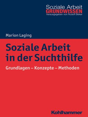 cover image of Soziale Arbeit in der Suchthilfe