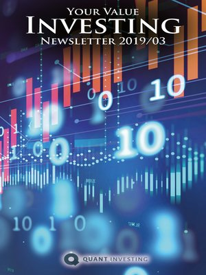 cover image of 2019 03 Your Value Investing Newsletter by Quant Investing / Dein Aktien Newsletter / Your Stock Investing Newsletter