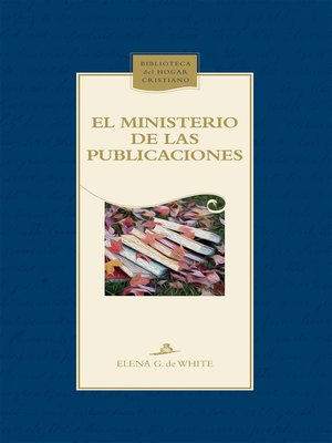 cover image of El ministerio de las publicaciones