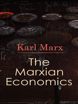 cover image of The Marxian Economics