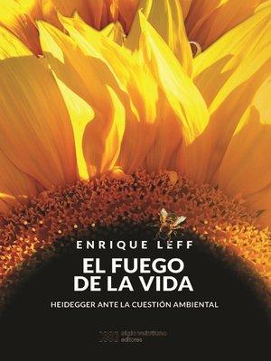 cover image of El fuego de la vida