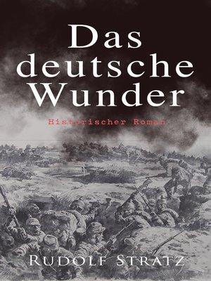 cover image of Das deutsche Wunder