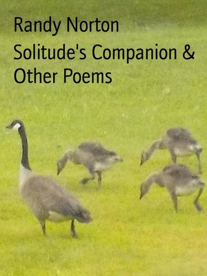 cover image of Solitude's Companion & Other Poems