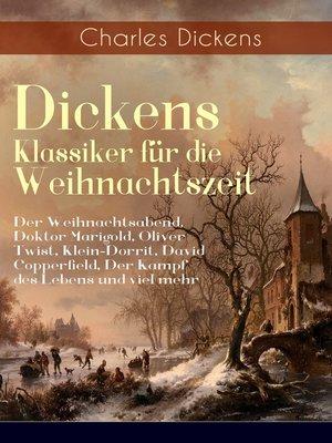 cover image of Dickens Klassiker für die Weihnachtszeit