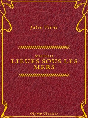 cover image of 20000 lieues sous les mers (Olymp Classics)