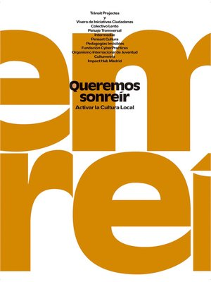 cover image of Queremos sonreír