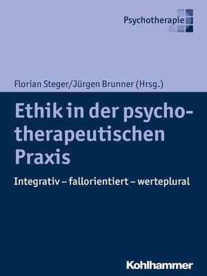 cover image of Ethik in der psychotherapeutischen Praxis