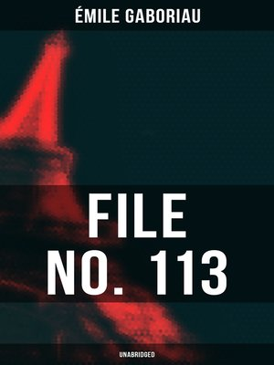 cover image of FILE NO. 113 (Unabridged)