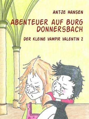 cover image of Abenteuer auf Burg Donnersbach