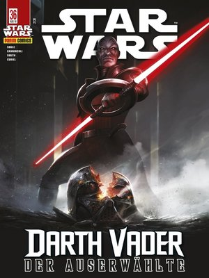 cover image of Star Wars, Comicmagazin 36--Darth Vader--Der Auserwählte