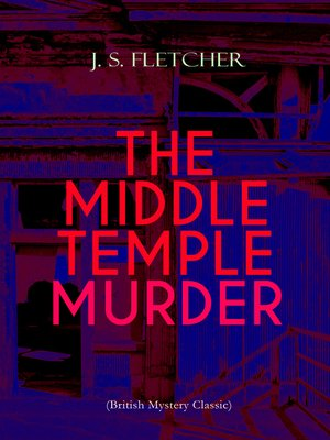 cover image of THE MIDDLE TEMPLE MURDER (British Mystery Classic)