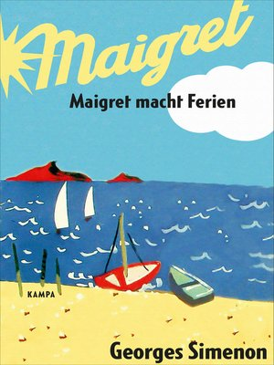 cover image of Maigret macht Ferien
