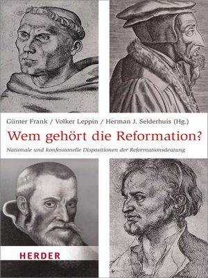 cover image of Wem gehört die Reformation?