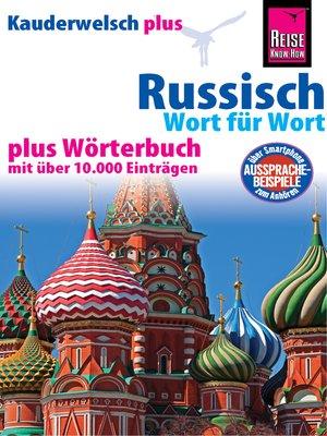 cover image of Russisch--Wort für Wort plus Wörterbuch