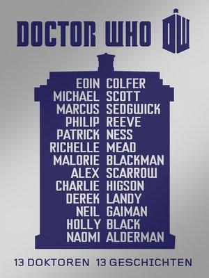 cover image of 13 Doktoren, 13 Geschichten