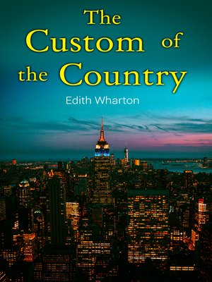 cover image of The Custom of the Country