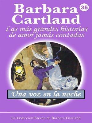 cover image of Una Voz en la Noche