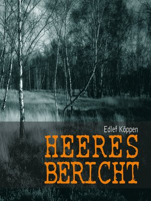 cover image of Heeresbericht