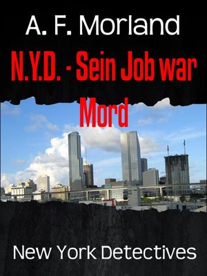 cover image of N.Y.D.--Sein Job war Mord