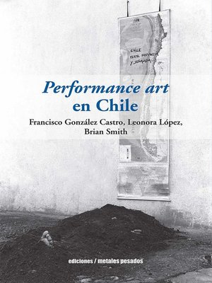 cover image of Performance art en Chile