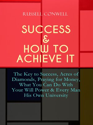 cover image of SUCCESS & HOW TO ACHIEVE IT