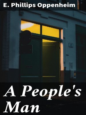 cover image of A People's Man