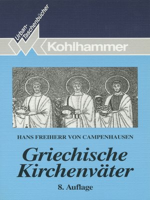 cover image of Griechische Kirchenväter