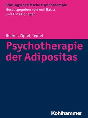 cover image of Psychotherapie der Adipositas