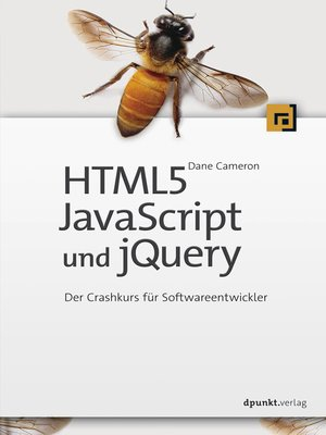 cover image of HTML5, JavaScript und jQuery