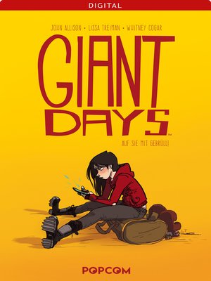 cover image of Giant Days 01