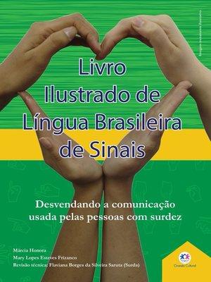 cover image of Livro ilustrado de língua brasileira de sinais Volume1