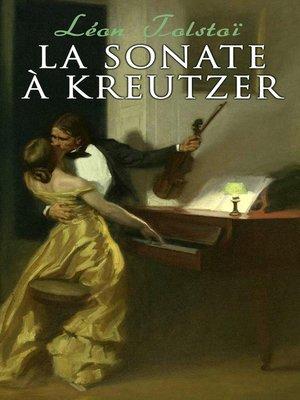 cover image of La Sonate à Kreutzer