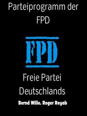 cover image of Parteiprogramm der FPD