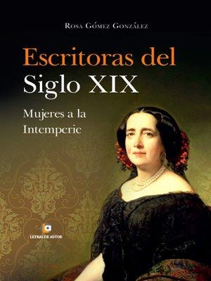 cover image of Escritoras del siglo XIX