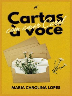 cover image of Cartas a você