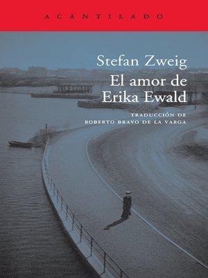 cover image of El amor de Erika Ewald