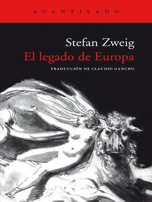 cover image of El legado de Europa