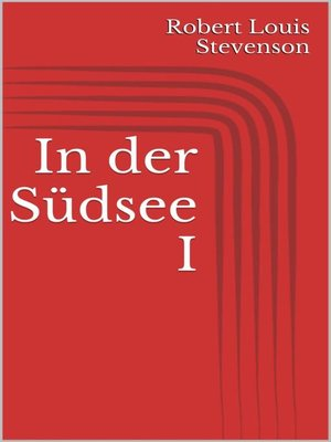 cover image of In der Südsee I