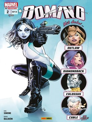 cover image of Domino 2--Furchtlose Vampirkiller