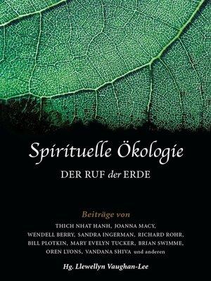 cover image of Spirituelle Ökologie