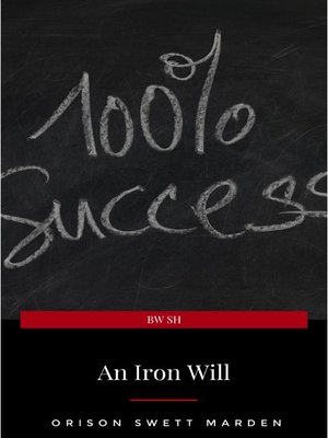 cover image of An Iron Will