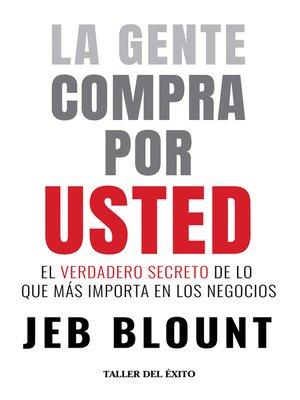 cover image of La gente compra por usted