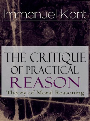 cover image of The Critique of Practical Reason